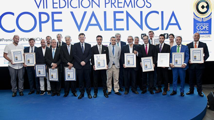 Seguridad Social, Ricardo Ten o La Sucursal entre los galardonados de los X Premios COPE Valencia