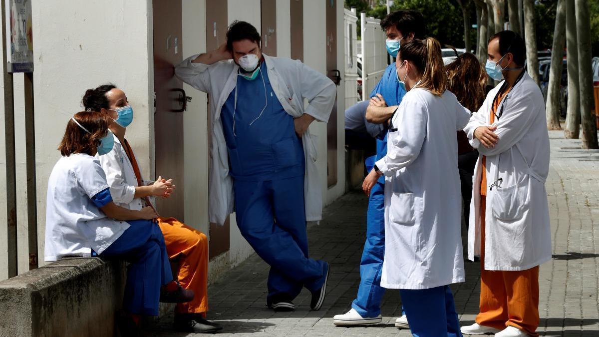 La C. Valenciana es la tercera autonomía en sanitarios contagiados