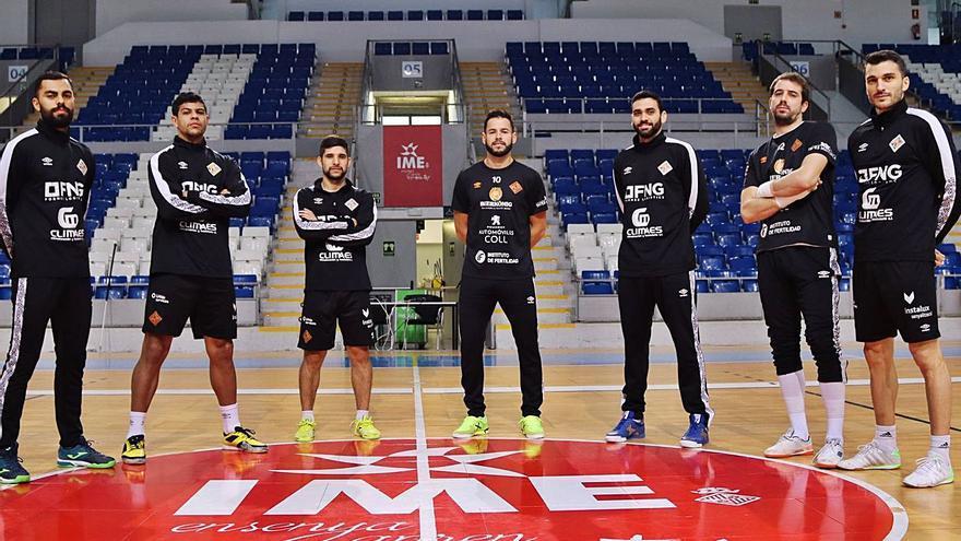 El Palma Futsal  se exige ganar en Tudela para mirar hacia arriba