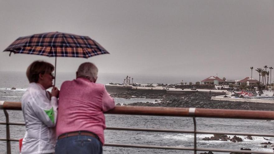 El 'regreso' del alisio  al Archipiélago dará  un ligero respiro  a la sequía