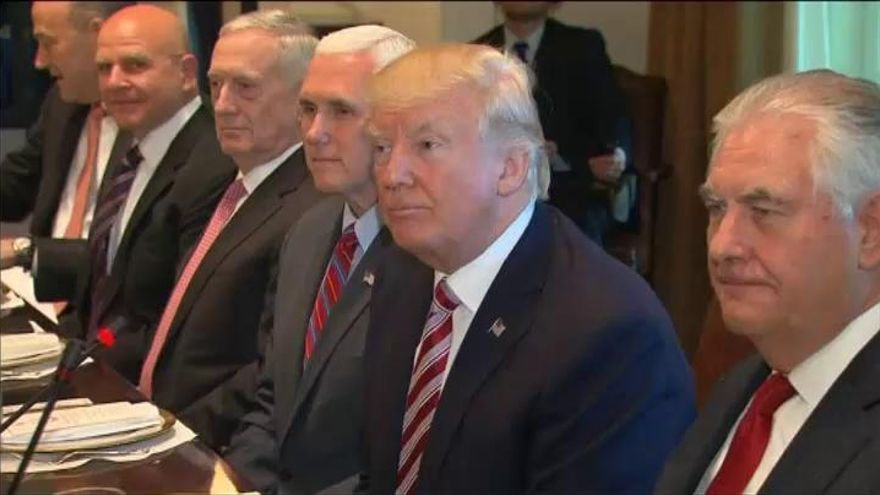 Trump instó a encarcelar a quien revele secretos