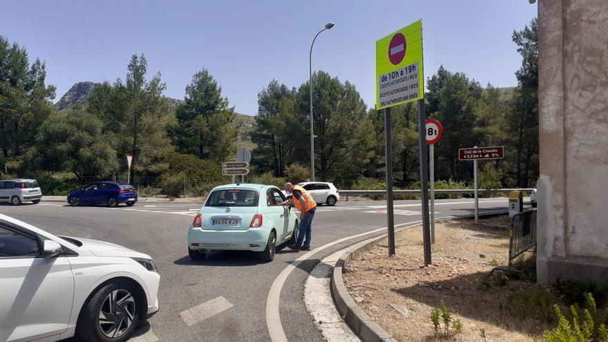 Permiten el acceso en coche privado a la playa de Formentor a cambio de una consumición