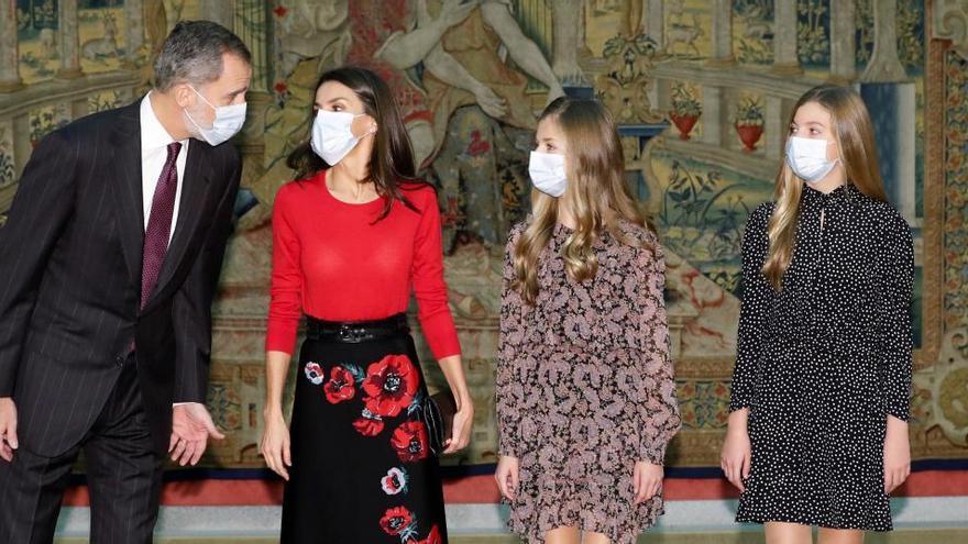 La princesa Leonor y la infanta Sofía se estrenan en el patronato de la FPdGi