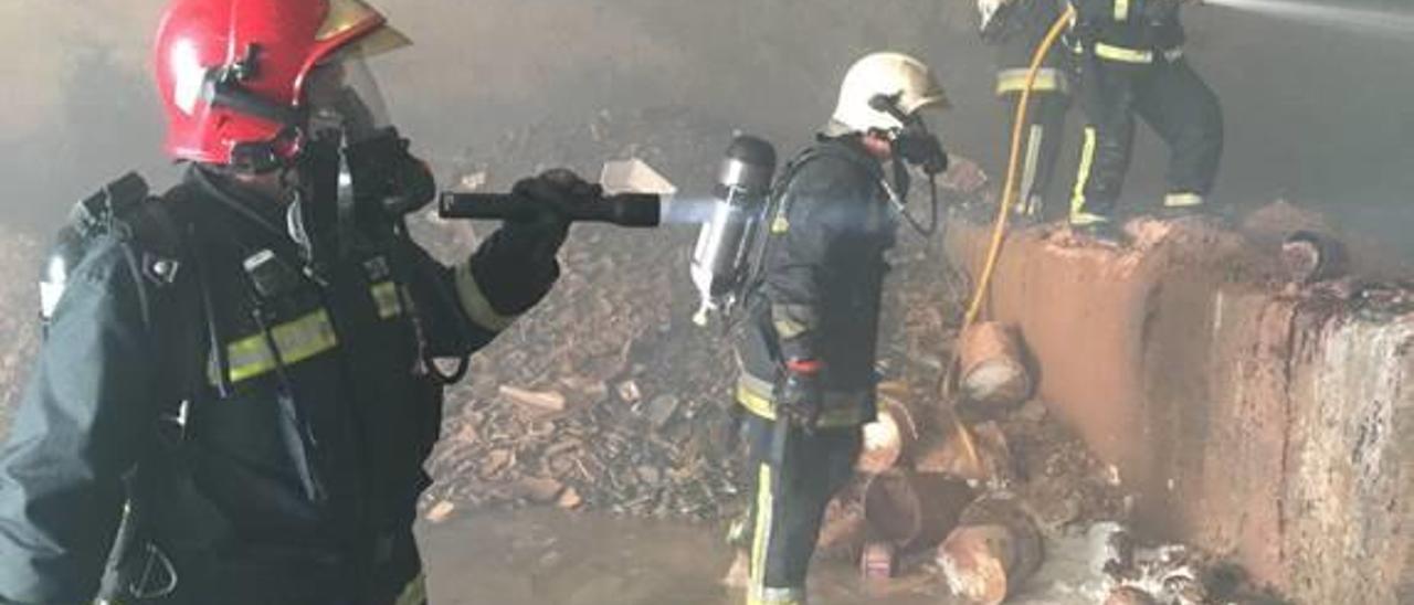 Generalitat abre expediente sancionador a Reyval por el incendio de este verano