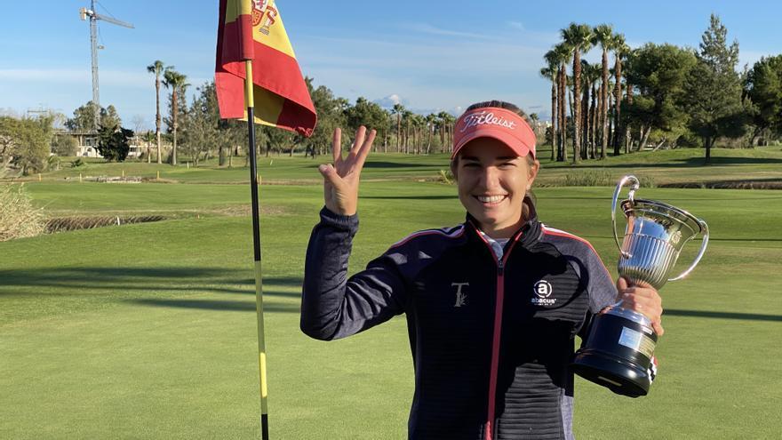 Luna Sobrón gana su tercer título nacional consecutivo