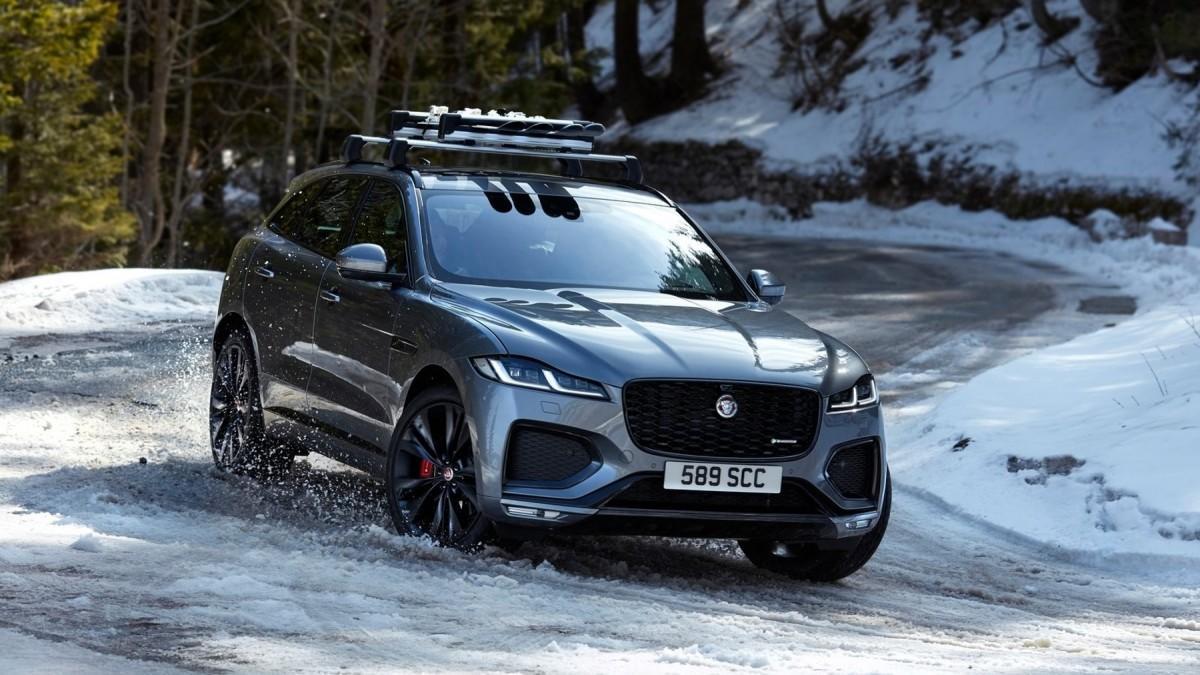 Jaguar F-Pace 2021: más de 90 fotos en una súper galería