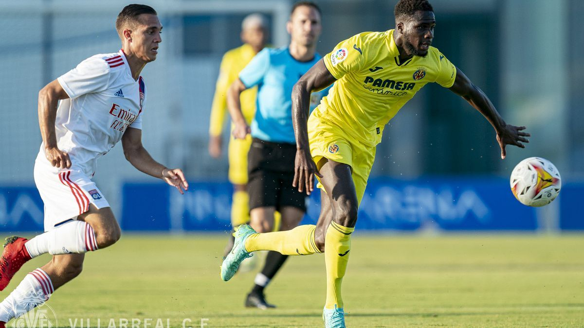 Boulaye Dia marcó su primer gol como jugador del Villarreal.