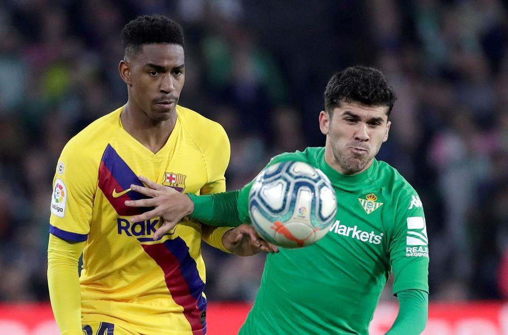 LaLiga Santander: Betis - FC Barcelona.