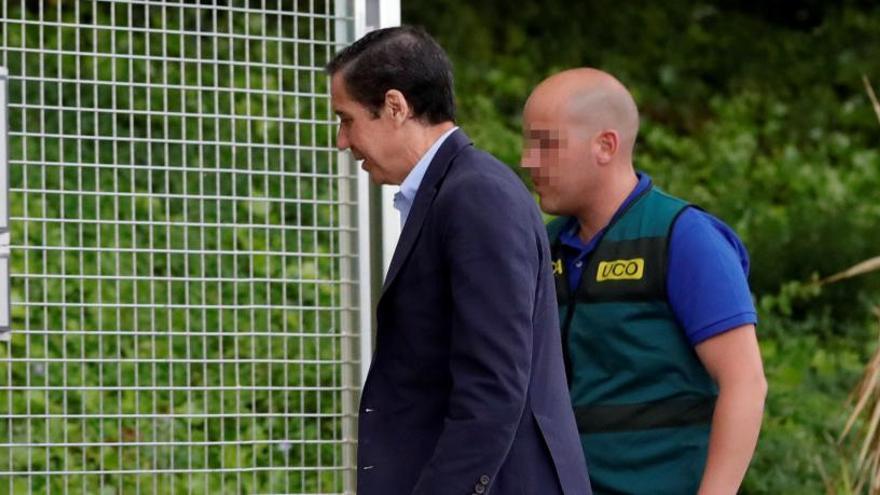 La jutge deixa en llibertat a Eduardo Zaplana