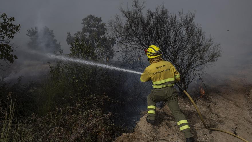 """CCOO reclama """"mejores condiciones"""" para el personal forestal"""