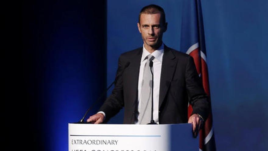 El esloveno Ceferin releva a Platini como presidente de la UEFA
