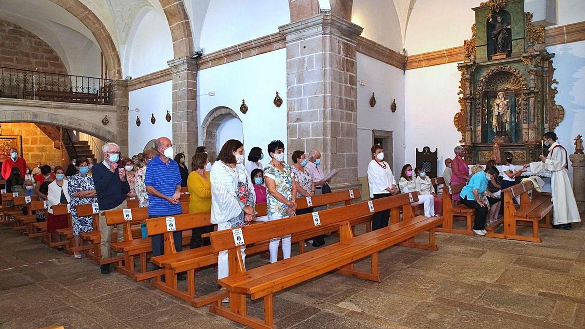 Misa en honor a la Virgen de la Asunción en Alcañices. | Chany