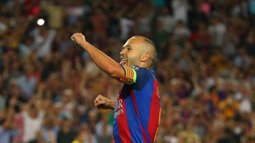 """Iniesta: """"Tengo la ilusión de retirarme en el Barcelona"""""""
