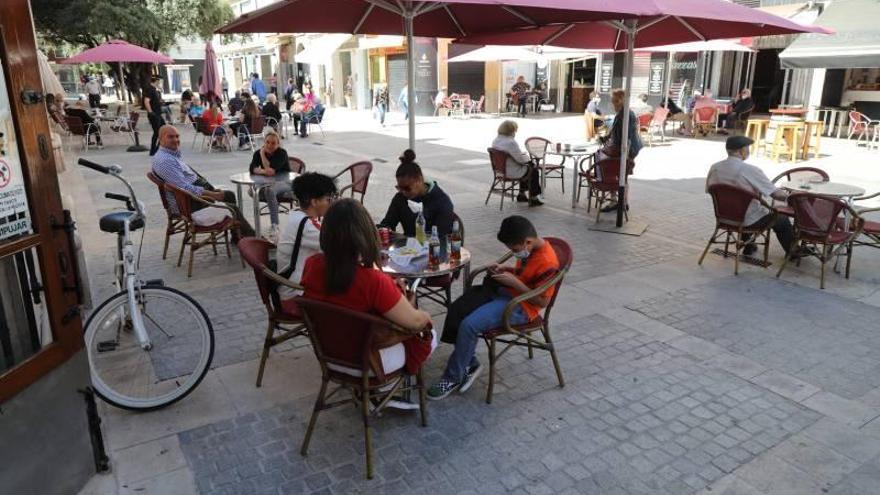 Castellón recibe la fase 1 en las terrazas