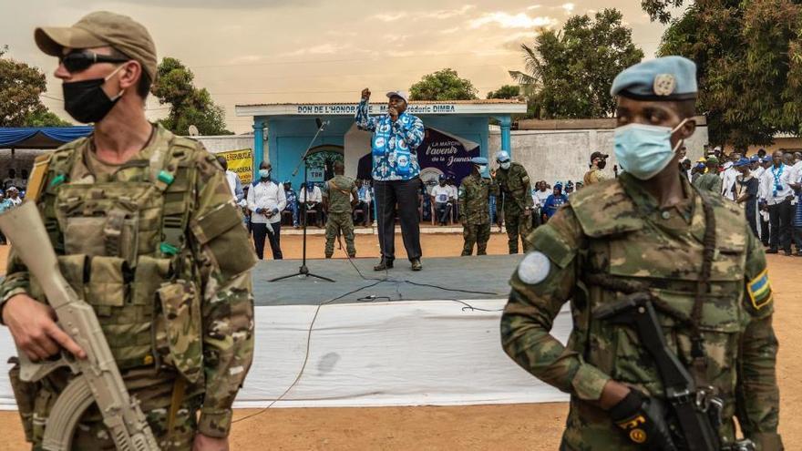 Rebeldes toman una ciudad al sureste de la República Centroafricana