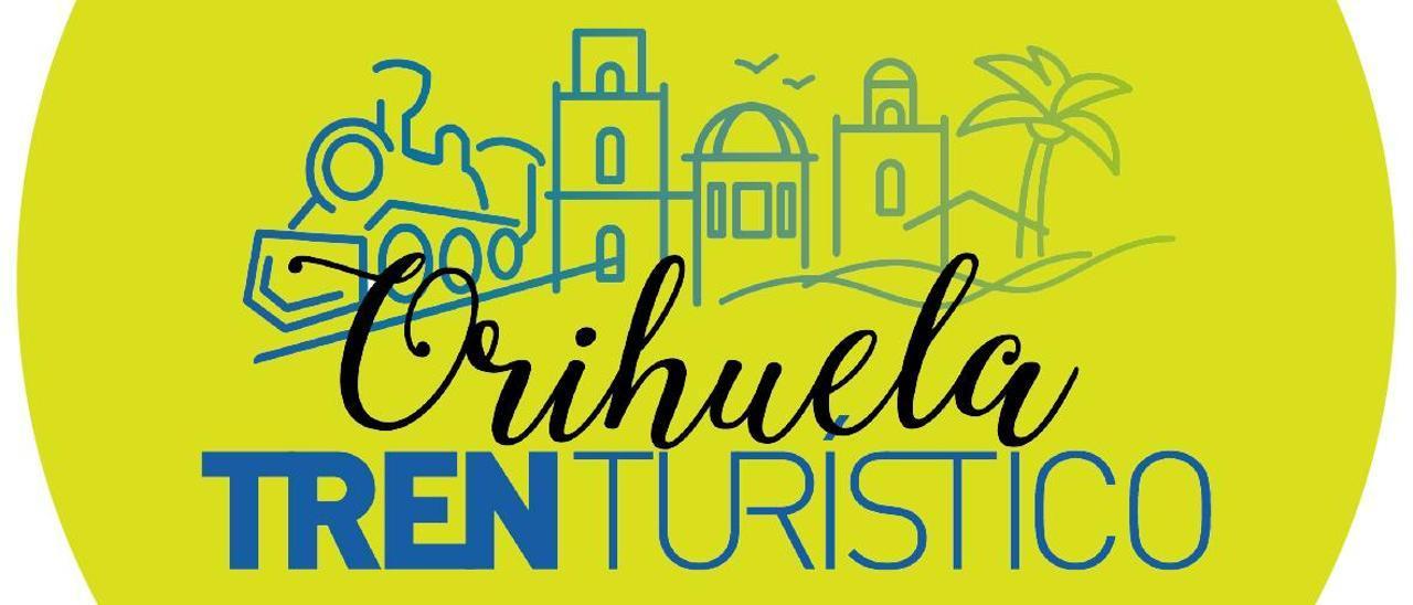 Cartel que anuncia el tren turístico