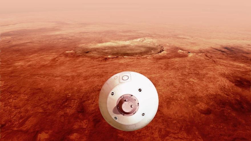 Cuenta atrás para la llegada a Marte del rover Perseverance de la NASA