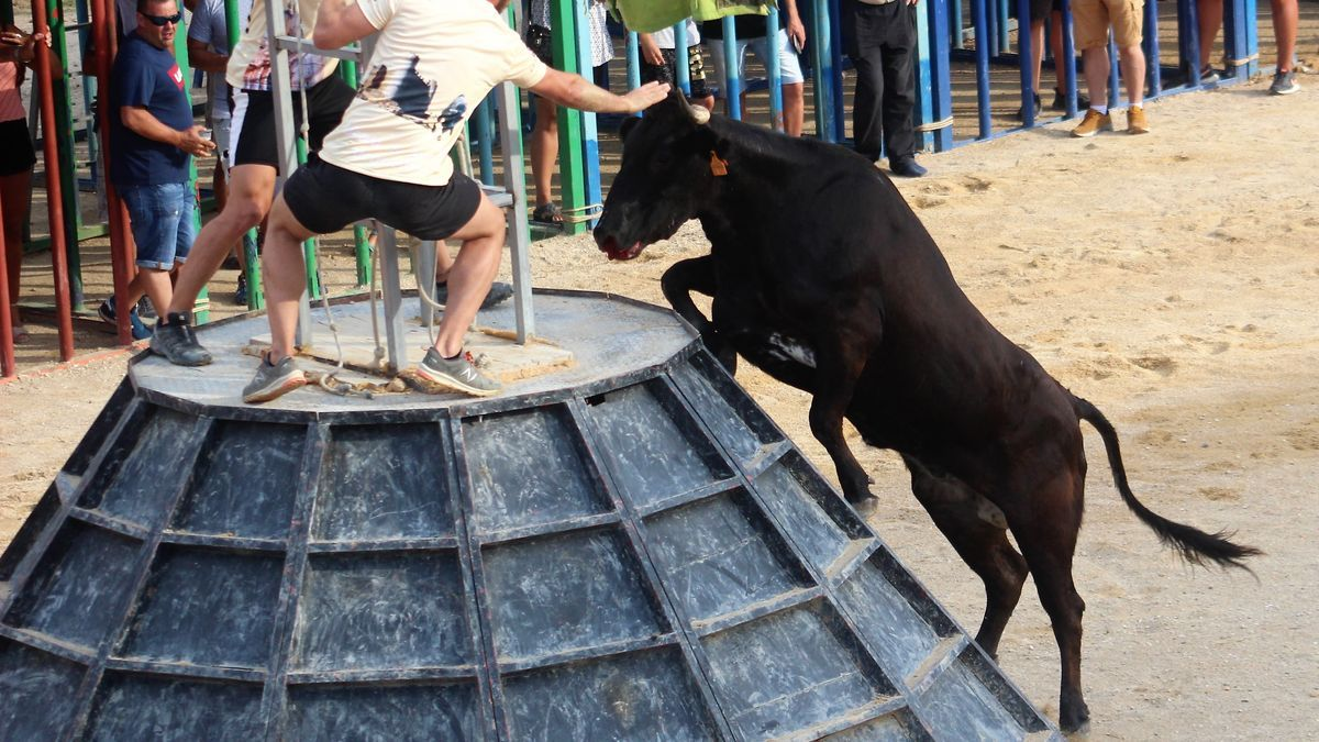 Imagen de archivo de los festejos taurinos en Alcalà.