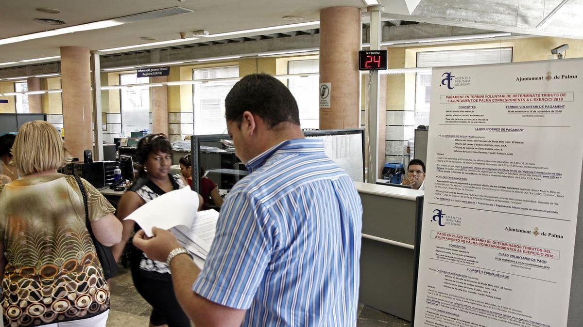 Hoy se ha iniciado el plazo para el pago voluntario de impuestos municipales.