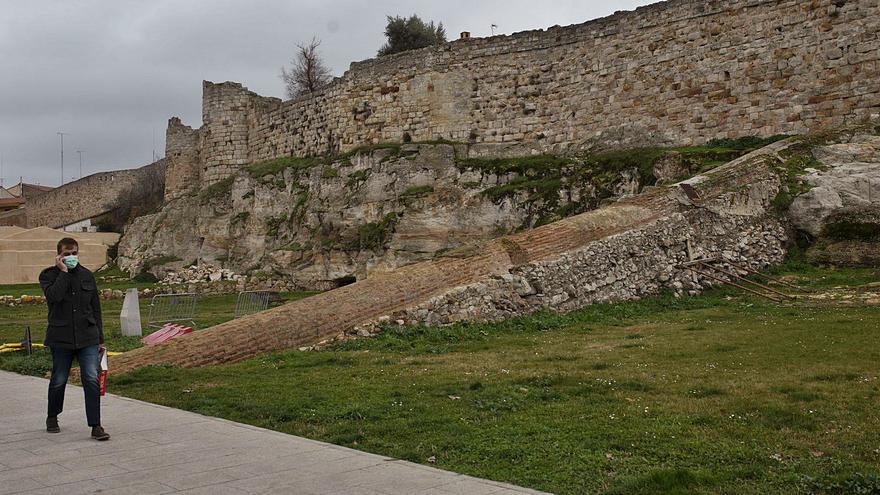 La muralla de Zamora renace con el nuevo año