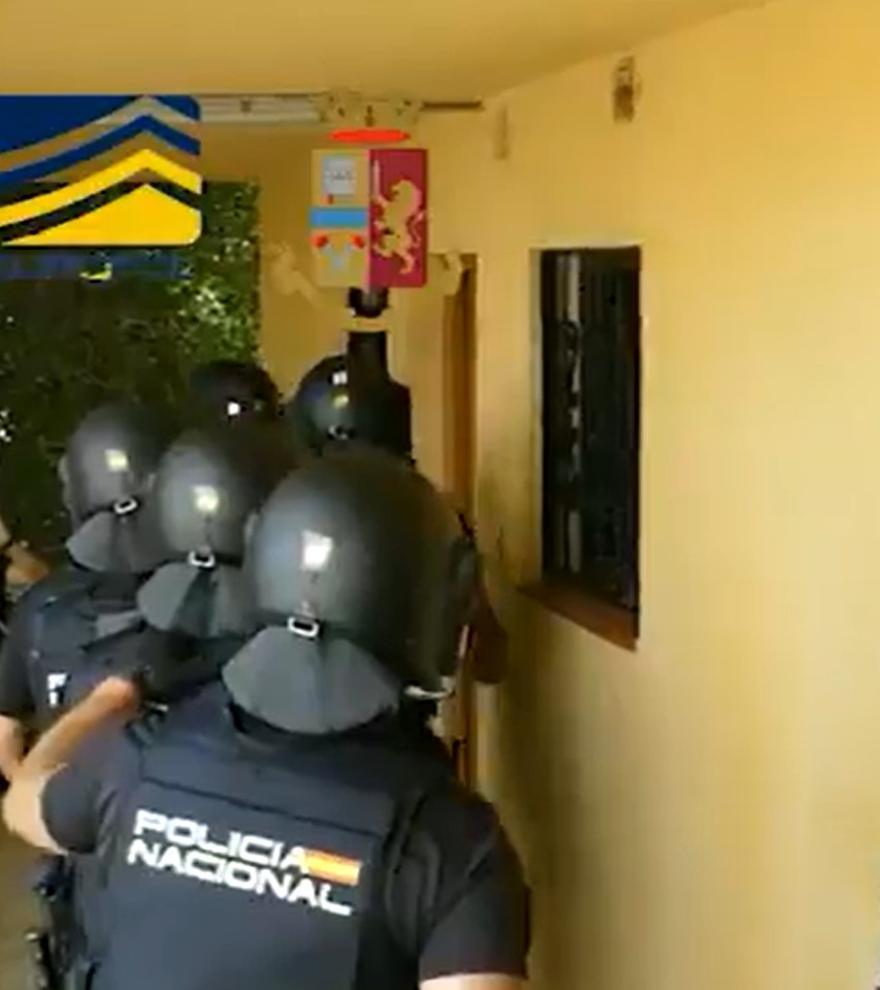 Golpe a la mafia italiana en Tenerife: 106 detenidos por blanquear más de diez millones de euros procedentes de estafas informáticas
