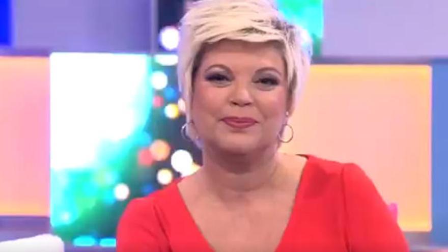 Así ha sido el emocionado regreso de Terelu Campos a Telemadrid