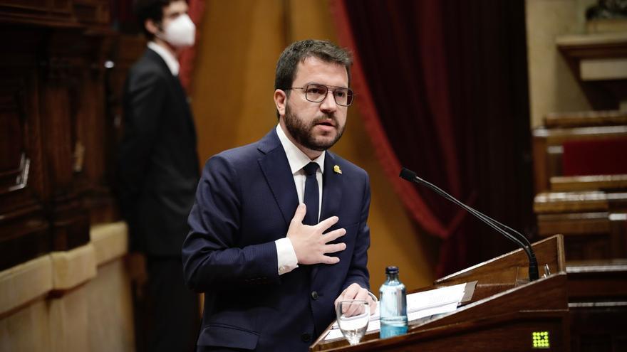 Aragonès informarà sobre el nou Govern al Parlament en un ple la setmana que ve