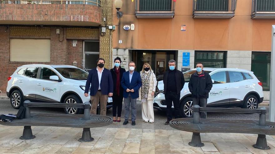 El Campello incorpora dos nuevos vehículos para el departamento de Patrimonio y Urbanismo