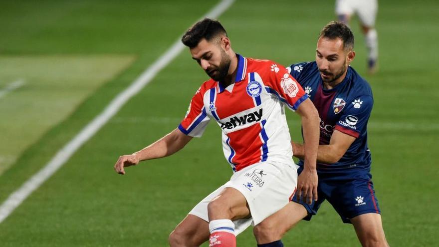 Un gol de Ontiveros ante el Alavés abre el casillero de victorias del Huesca
