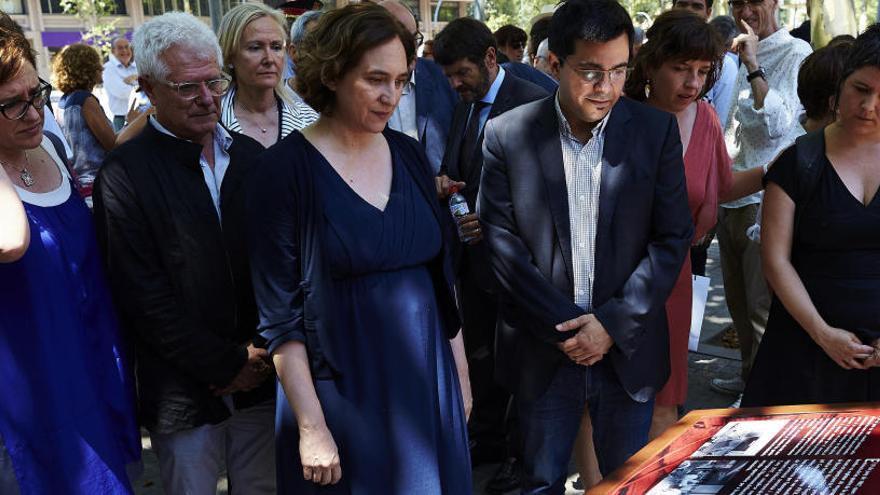 Las víctimas de Hipercor, protagonistas del recuerdo del peor atentado de ETA