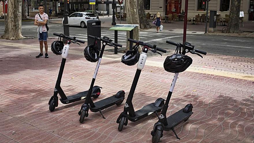 Xàtiva lanza un servicio de alquiler de patinetes eléctricos