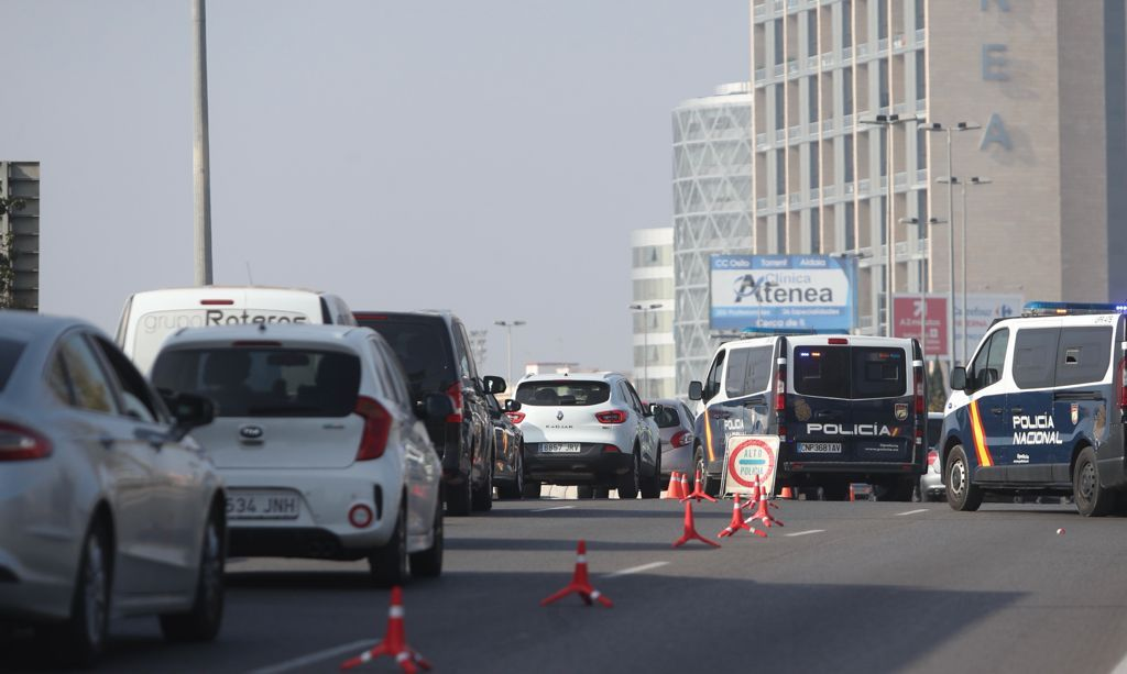 Controles en el cuarto cierre perimetral de la ciudad de València