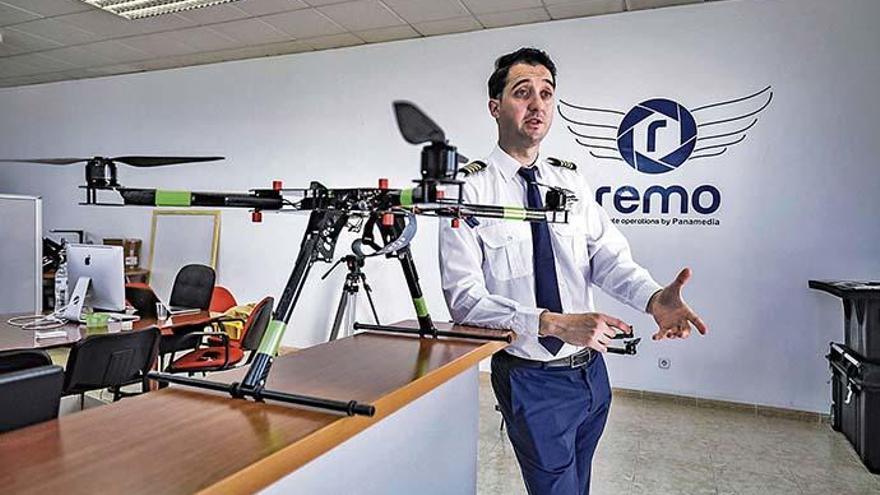 So werden Sie auf Mallorca zum professionellen Drohnenpiloten