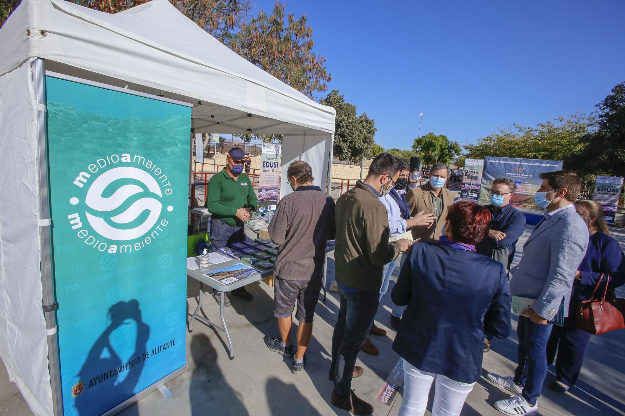 El Ayuntamiento celebra el «Alicante EDUSI Green Day»