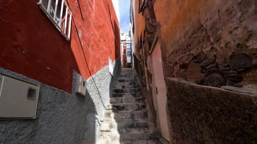 Escaleras hacia el Risco