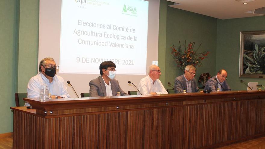 Asaja-Alicante abre la batalla por presidir el comité de la agricultura ecológica de la Comunidad