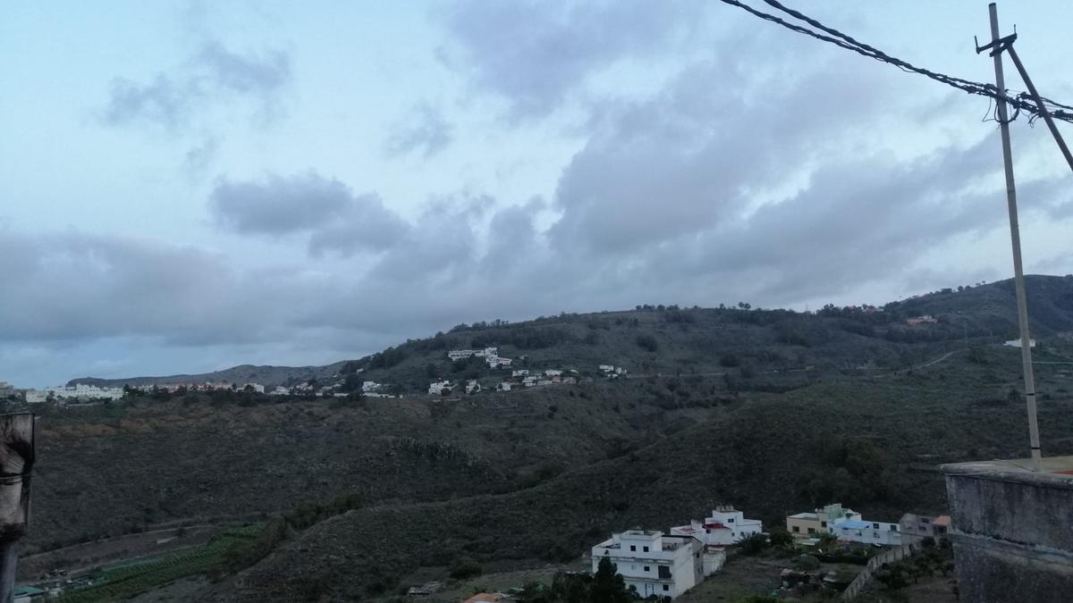 Cielos parcialmente nubosos este lunes al norte de Gran Canaria