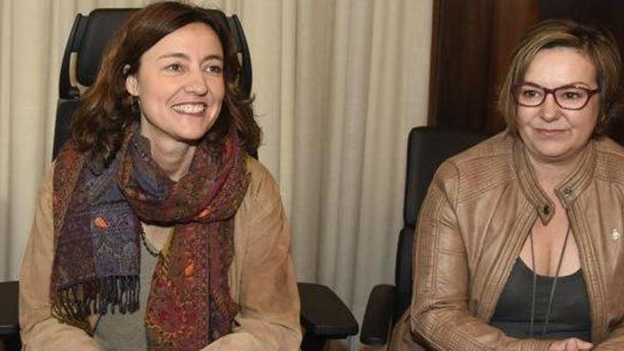 Fonts de la Diputació descarten que la presidenta pugui fer marxa enrere en el veto a Estefanell