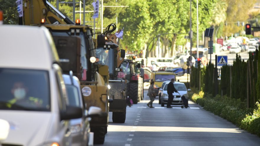 Protesta en defensa del Trasvase en Cartagena
