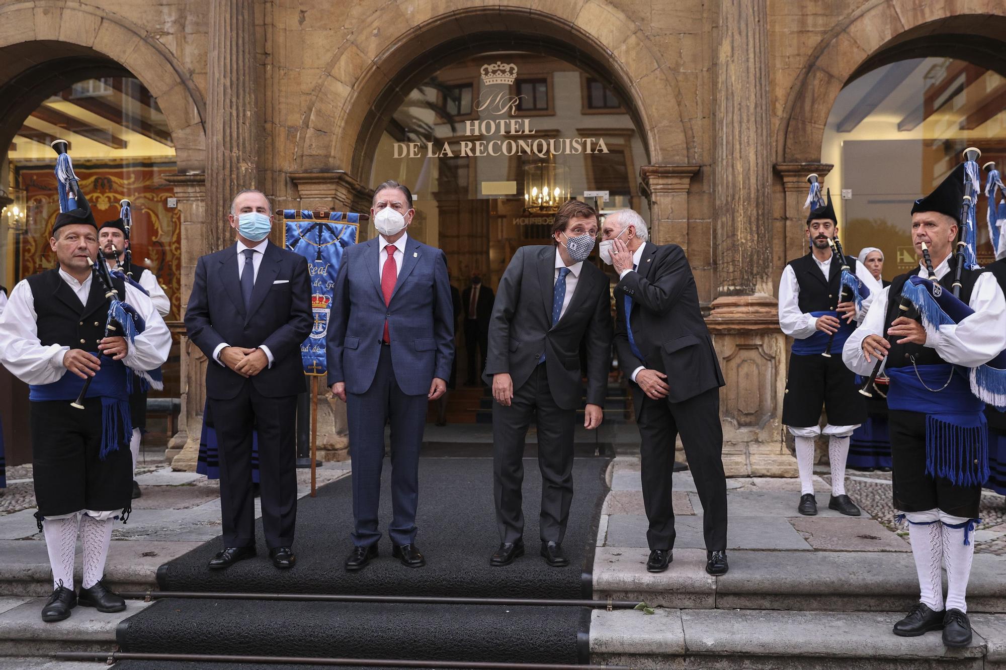 La celebración del Día de Galicia en Asturias en imágenes