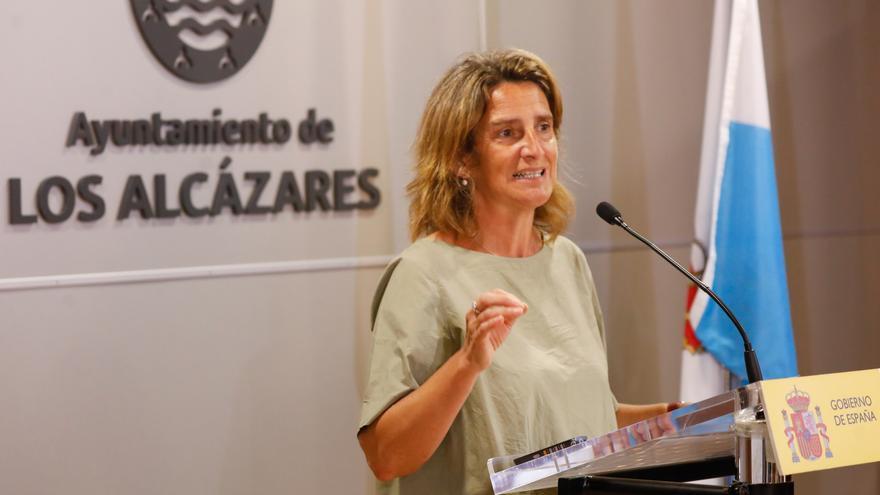 """Ribera sobre el Mar Menor: """"No es posible que por miedo a la aplicación de la ley se esté dando cobertura a unos pocos ilegales"""""""