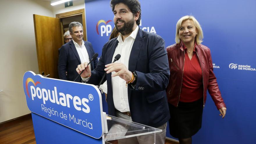 Así fue la noche electoral en la sede del PP en la Región de Murcia