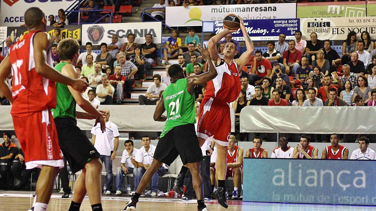 Justin Doellman, que va anotar 23 punts | JOAQUIM ALBERCH/ACB PHOTO