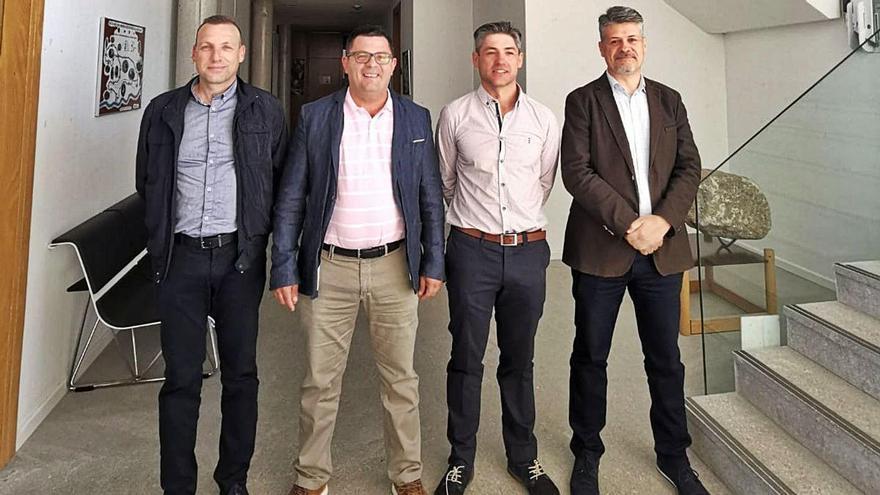 Miembros del equipo de Gobierno del Ayuntamiento de Muelas del Pan. | Ch. S.