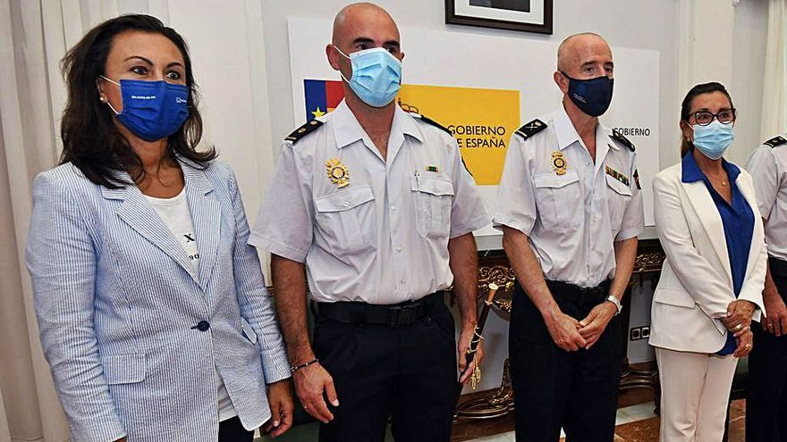 Javier Rodríguez asume el cargo de comisario de la Policía Nacional en Marín