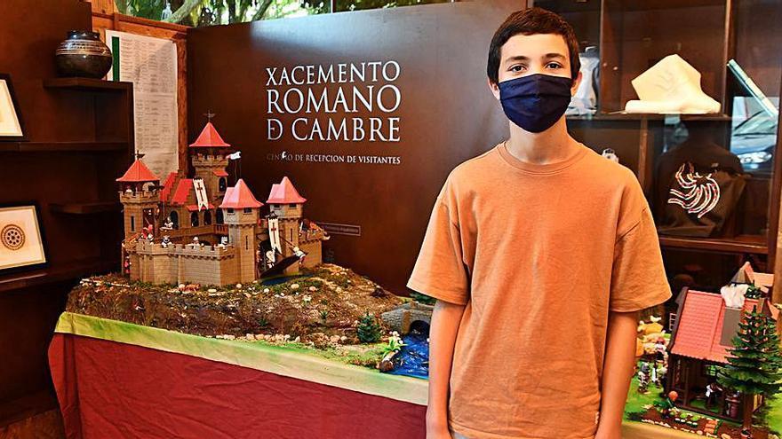 Un chico de 12 años recrea con Playmobil el mundo Templario