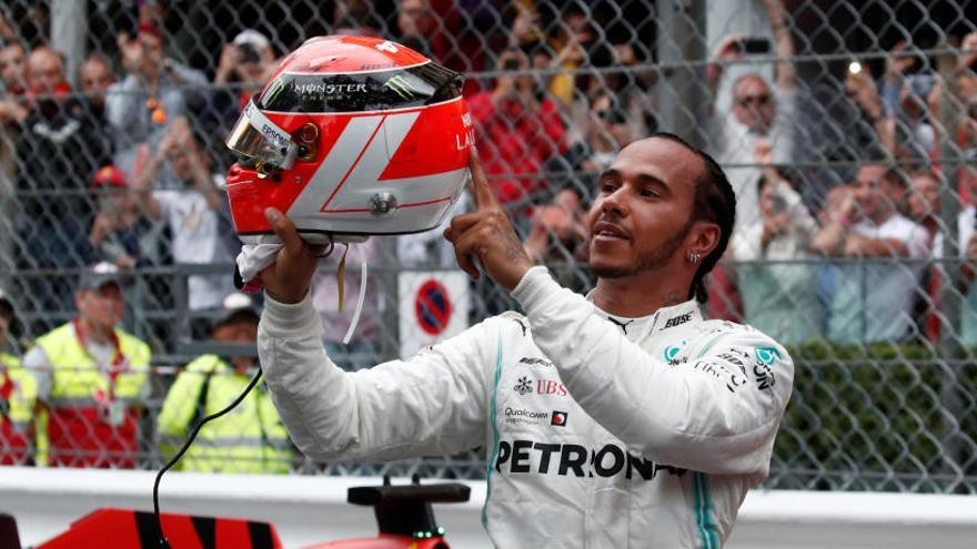 Hamilton es corona al Gran Premi de Mònaco
