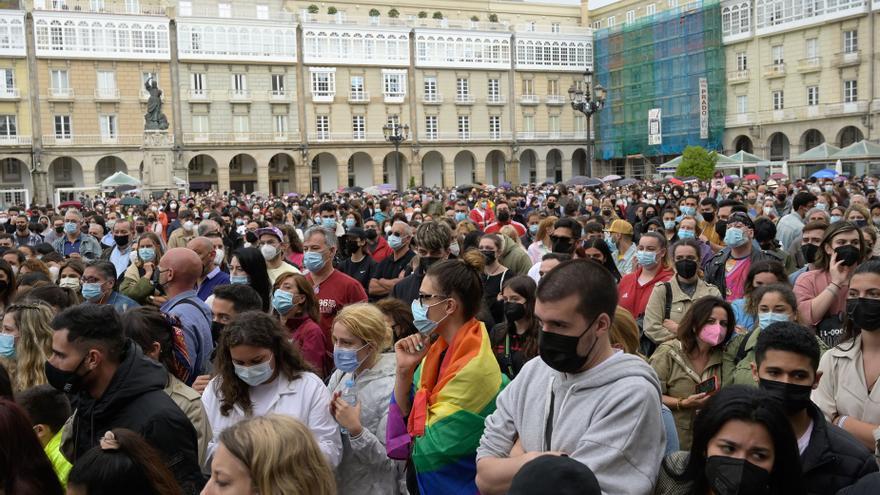 Manifestaciones en toda España para condenar el asesinato de Samuel