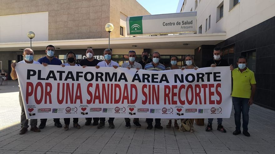 """Denuncian el """"colapso"""" de las urgencias del Hospital de Antequera por """"no cubrir las bajas"""""""