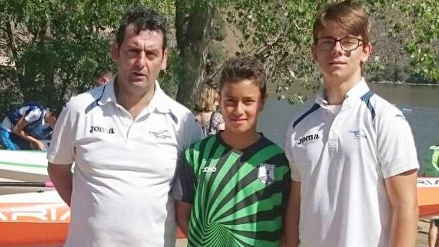 Dos ourensanos, en la Copa de España infantil